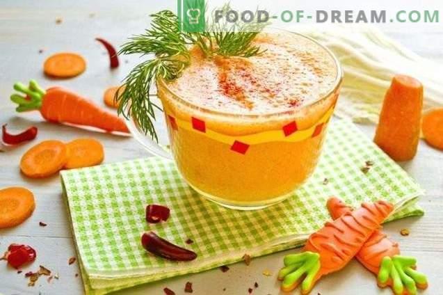 Hangover kokteil - köögivilja-smoothie kuuma paprika ja kreeka ...