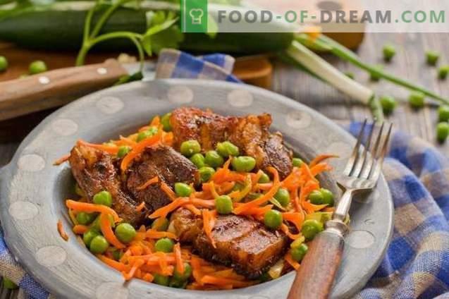 Porc aux légumes au four