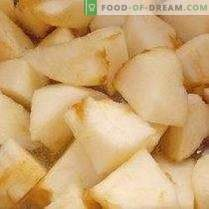 Apple supp dessert õunakettidega
