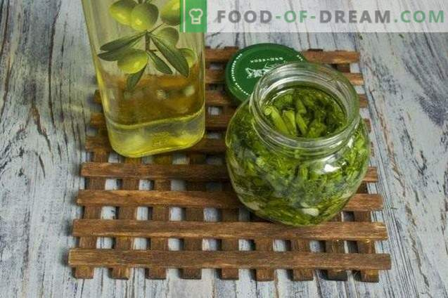 Saagikoristus talveks: salatite ja küüslaugu suppide maitsestamine, ...
