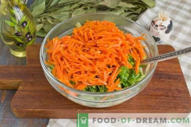 Salade met gebakken champignons en kip