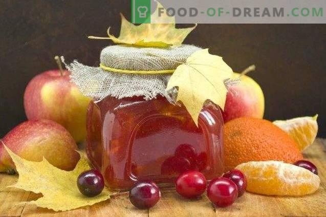 Õunamahl jõhvikate ja tsitrusviljadega