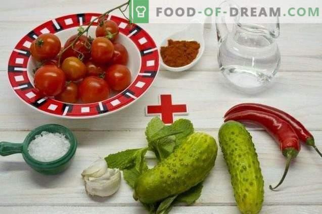 Gazpacho - külm tomati supp