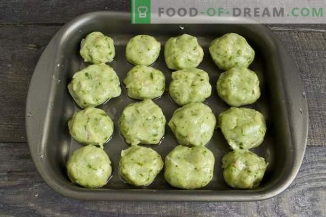 Lihapallid ahjus köögivilja kastmega