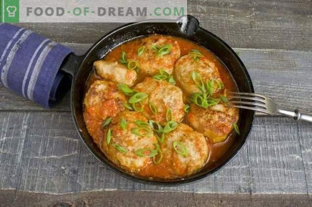 Lihapallid tomati ja paprika kastmega
