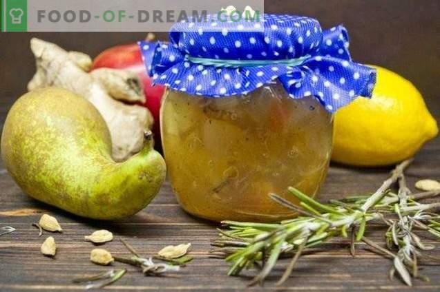 Puuviljamahl külmumisega rosmariini ja ingveriga