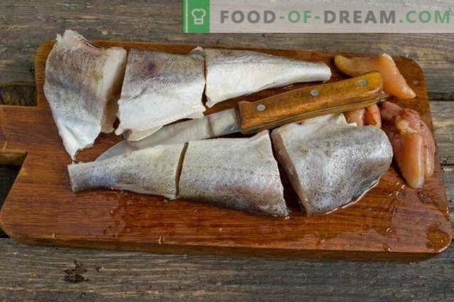 Maitsev navaga ahjus - kala marinaadi all