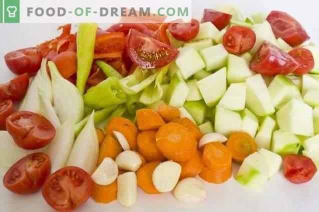 Küpsetatud köögiviljade squash kaaviar