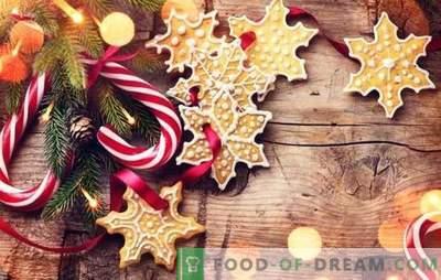 Jõulud maiustused teevad seda ise: maitsev, ilus, pidulik