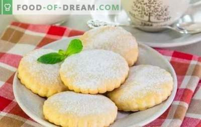 Shortbreads on sour cream - fragrant homemade cakes. The best recipes for sour cream biscuits: classic, with poppy seeds, bananas, cottage cheese