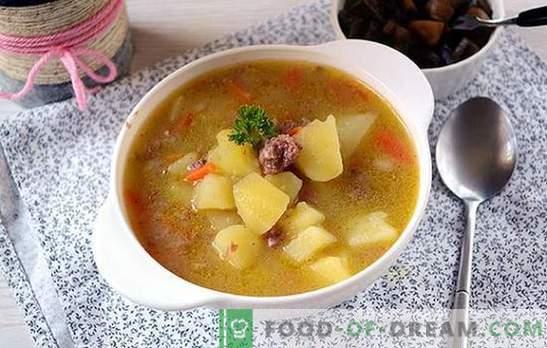 Klassikaline retsept kartulite puhul, mis on konserveeritud liha: Nõukogude riigi köögi maitse. Kuidas valmistada hõrgutisi banaalseid kartuleid: samm-sammult fotodega retsepti