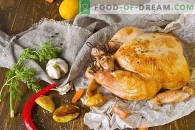 Terve küpsetatud kana