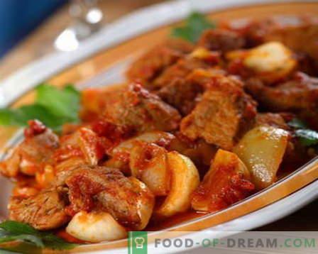 Veiseliha - parimad retseptid. Kuidas õigesti ja maitsev kokk veiseliha.
