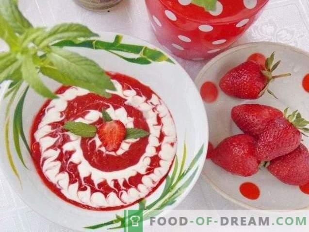 Maasika supp magustoit