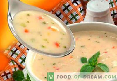 Laste supid - tõestatud retseptid. Kuidas korralikult ja maitsvalt valmistada laste supid.