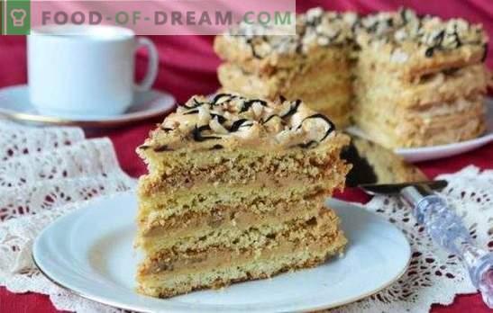 Air Snickers Cake - krõbeda habemeaja magustoit! Retseptid küpsiste, küpsiste ja liivakookide õhukookide jaoks
