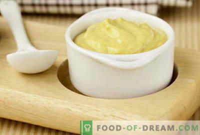 Sinepikaste - parimad retseptid. Kuidas õigesti ja maitsva kokk sinepikaste.