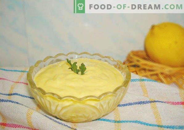 Stapsgewijs recept voor mayonaise thuis in een blender