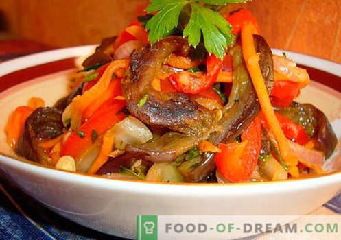 Vürtsikas salatid - valik parimaid retsepte. Kuidas korralikult ja maitsvaid küpsiseid valmistada.