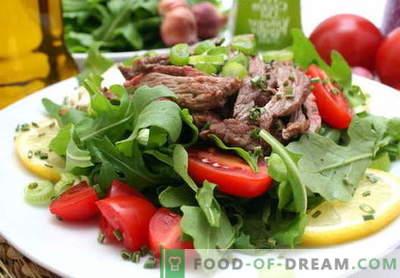 Veiseliha salat - tõestatud retseptid. Kuidas valmistada veiseliha salatit.