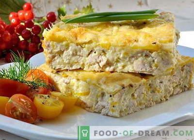 Kana pajaroog - parimad retseptid. Kuidas õigesti ja maitsev teha pajaroog kanaga.