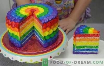 Oleme üllatunud maitse ja värvi poolest: küpsistest või želeest valmistatud kook