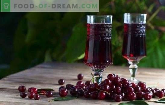 Cherry liköör kodus - rubiini kuninganna laual! Maitsva kirsikurustiku valmistamine kodus