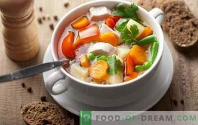Kana köögiviljasupp võib olla meistriteos! Parimad retseptid kana- ja juustupulbri, juustu, ingveri, maisi, kõrvitsaga