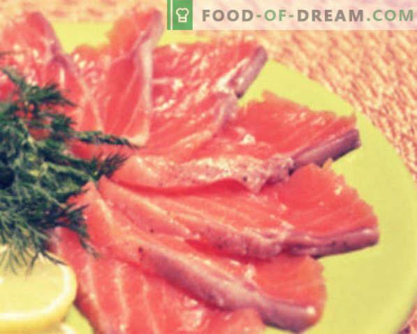 Punaste kalade soolamine kodus retseptid ja soovitused