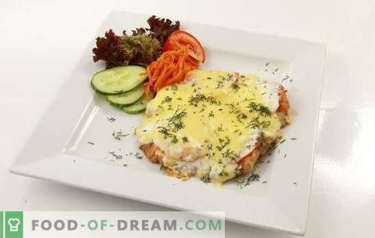 Liha prantsuse keeles: populaarse kuumuse järk-järguline retsept. Prantsuse liha retseptid pannil ja potis (samm-sammult)