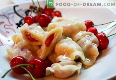 Кромиња со цреши - најдобри рецепти. Како правилно и вкусно готви кнедли со цреши дома.