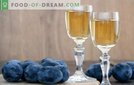 Vinho de ameixa em casa: não sei como - vamos ensinar! Características da preparação deste vinho de ameixa em casa