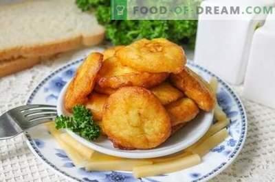 Kartulikroketid - huvitav roog tavalistest kartulitest