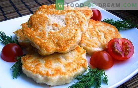 Kanafileed majoneesiga - andke mahlasus! Retseptid tavaliste ja hakitud kanafileedega majoneesiga