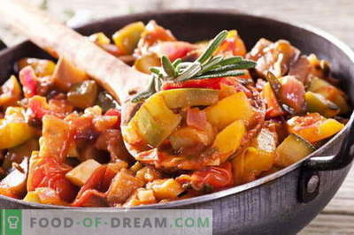 Taimne hautatud liha - parimad retseptid. Kuidas korralikult ja maitsvalt küpsetada köögivilja hautatud liha.