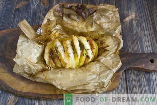 Küpsetatud kartul singiga