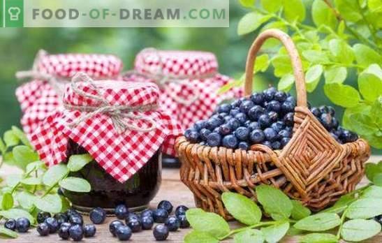 Mustikate valmistamine talveks: moos, moos, marmelaad, kompott. Retseptid mustikate toorikutest suhkruga ja oma mahlaga