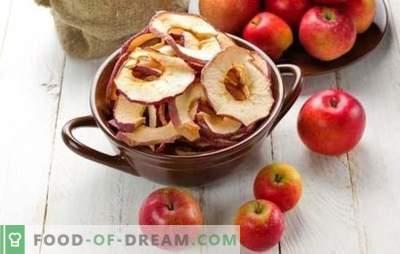 Kuidas kuivatada õunu kodus - lihtne lahendus suvel koristamiseks. Mida süüa kuivatatud õunadest kodus?