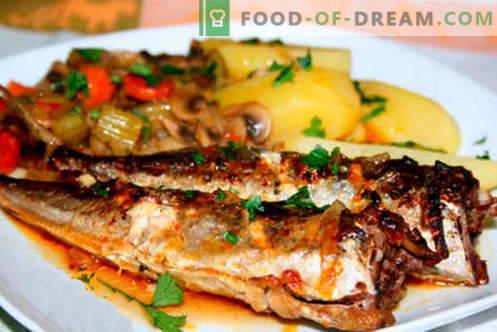 Makrell kartuliga - parimad retseptid. Kuidas õigesti ja maitsvaid makrellikartuleid kartulitega.