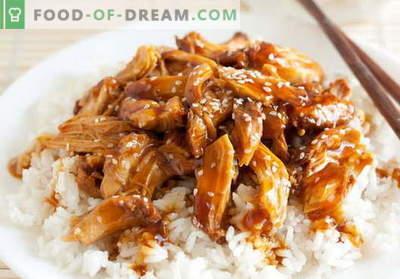 Teriyaki kana - parimad retseptid. Kuidas korralikult ja maitsvalt valmistada teriyaki kana.