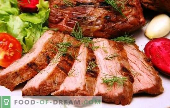 Küpsetatud liha aeglases pliidis - mahlane! Kuidas küpsetada liha aeglases pliidis: sealiha, veiseliha, lambaliha, kana