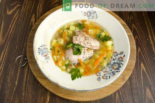 Lõhe kala supp