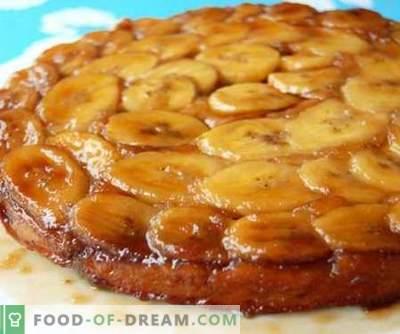 Bananencake - de beste recepten. Hoe goed en smakelijk koken Banaan cake.