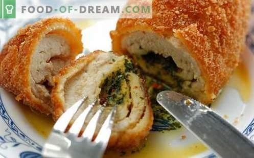 Kana Kiievi marjad on parimad retseptid. Kuidas õigesti ja maitsev kokk kana Kiievis.