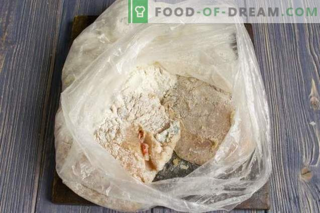 Maitsev kanafilee juustuga ahjus