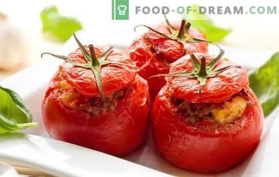 Tomatid juustu ja küüslauguga - Itaalia kaperze järeltulija! Parimad tomatite retseptid juustu ja küüslauguga