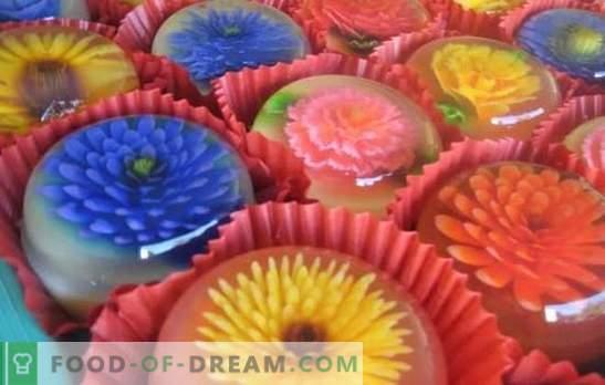 Selge marmelaad on kunstiteos! Valmistamismeetodid ja retseptid kergetele magustoidutele ja läbipaistvatele kapslite põhiroogadele