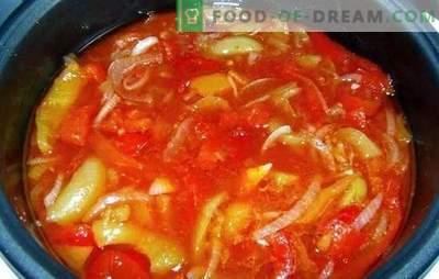 Lecho multicookeris: tehnoloogia, mis aitab meid! Kiire, lihtne, maitsev: parim aeglaste retseptid talvel aeglases pliidis: tomatitest ja paprikatest