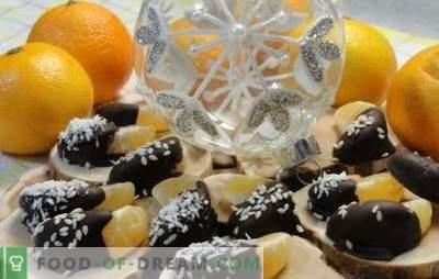 Kiired ja maitsvad magustoidud mandariinidega