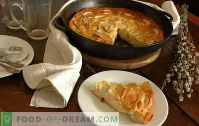 Cottage Cheese Casserole koos õunadega on ebatavaline hommikusöök ja tervislik. Retseptid kodujuustu jaoks õunte puhul: toitumine ja rõõmsameelne